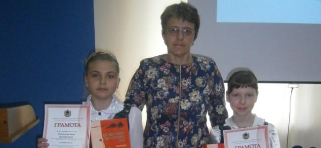 Карнацкая Анна, Бирюкова Руслана и Быковская Марина Борисовна